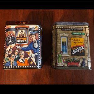 2 Cadbury's Caramilk Collection tins